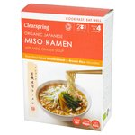 Clearspring Organic Japanese Miso Ramen Noodles with Miso Ginger Soup