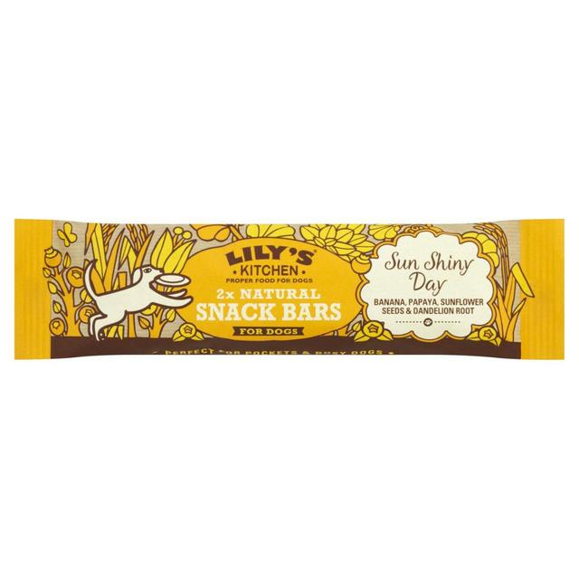 Lily\'s Kitchen Sun Shiny Day Snack Bar for Dogs 36g from Ocado