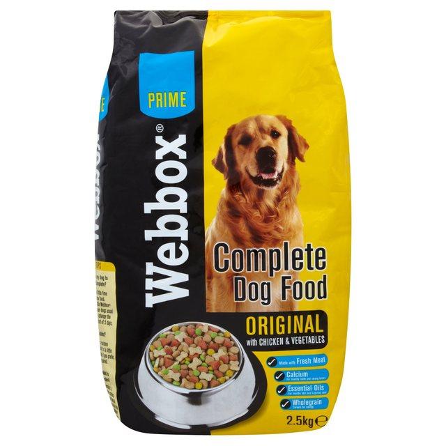Webbox Natural Dry Dog Food