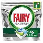 Fairy Platinum All in One Original Dishwasher Tabs 46 per pack