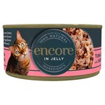 Encore Wet Cat Food Tin, Salmon in Jelly