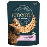 Encore Tuna & Prawn Cat Pouch