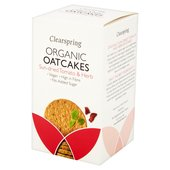 Clearspring Organic Sun-Dried Tomato & Herb Oatcakes