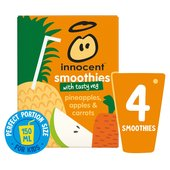 Innocent Kids Pineapples, Apples & Carrots Smoothie