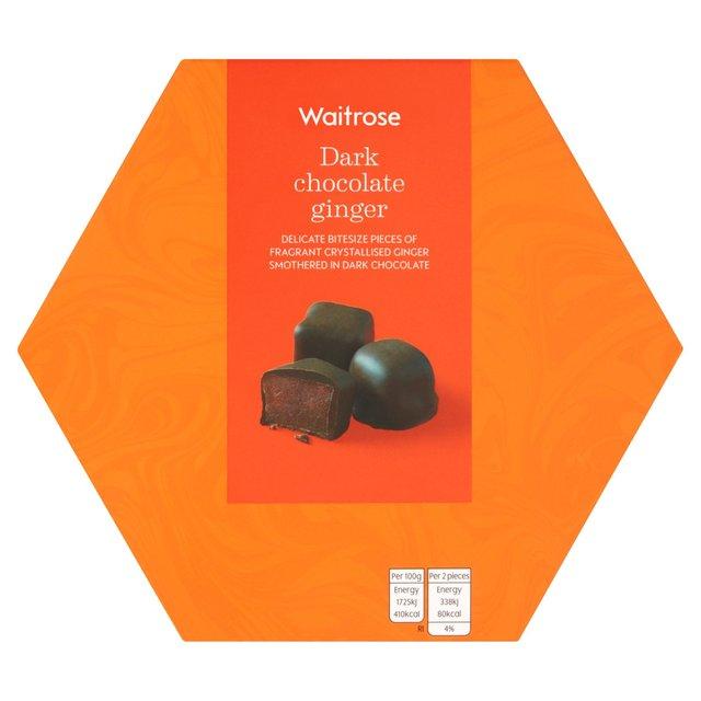 Waitrose Dark Chocolate Ginger Ocado