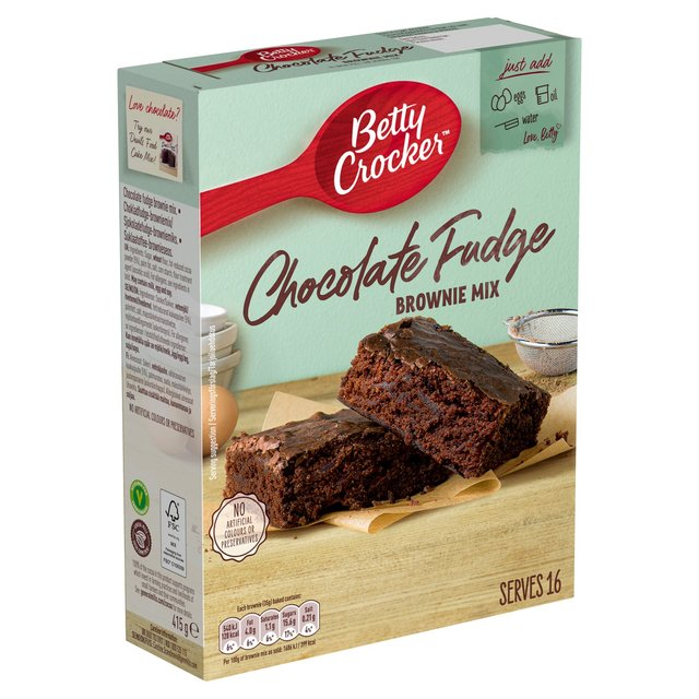 Betty Crocker Chocolate Fudge Brownie Mix Ocado