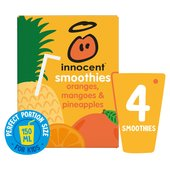 Innocent Kids Oranges, Mangoes & Pineapple Smoothies