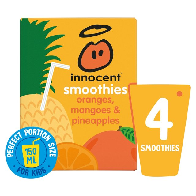 Innocent Kids Orange, Mango & Pineapple Smoothies