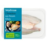 Waitrose 2 Sea Bream Fillets