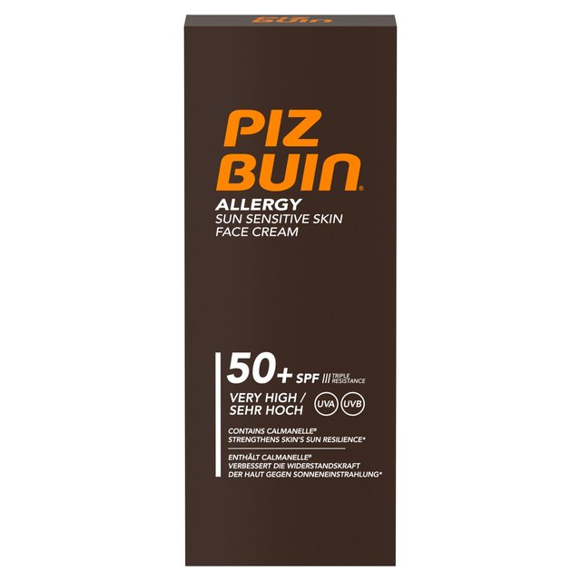 Piz Buin SPF 50+ Allergy Face Cream
