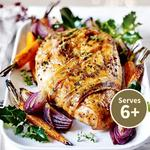 Waitrose Bronze Free Range Turkey Joint With Bacon & Black Pepper
