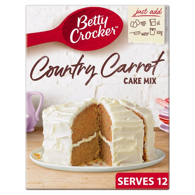 Betty Crocker Country Carrot Cake Mix 425g From Ocado