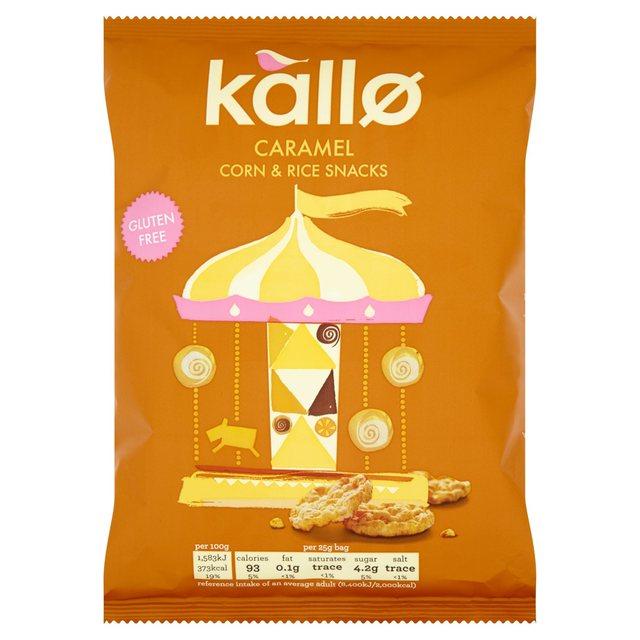 Kallo Rice Cakes Caramel