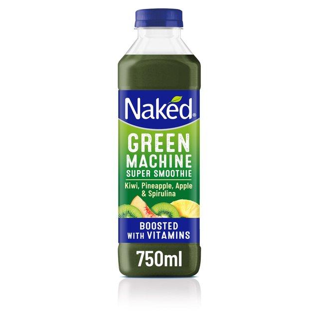Green machine naked