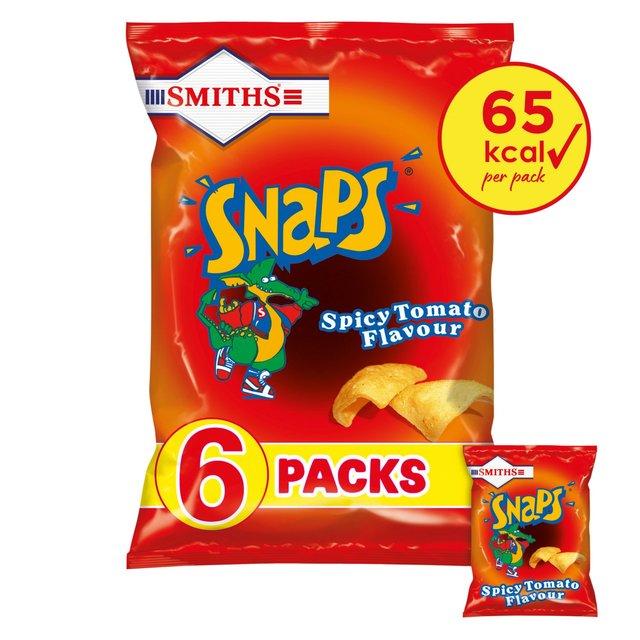Smiths Snaps Spicy Tomato Snacks 13g X Ocado