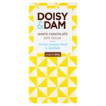 Doisy & Dam Lemon, Poppy Seed & Baobab 30% White Chocolate
