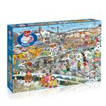 I Love Winter Jigsaw Puzzle 1000pc, 3yrs+