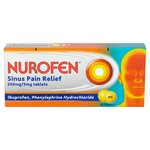 Nurofen Sinus Pain Relief 200mg Tablets