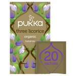 Pukka Herbs Three Licorice Tea Bags