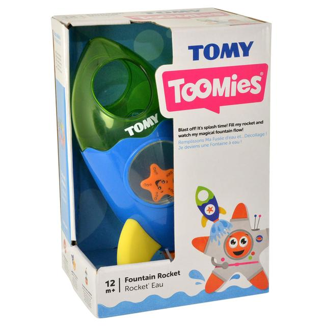 TOMY Toomies Fountain Rocket Bath Toy  Suitable From 1 year Activity & Entertainment Bath Toys