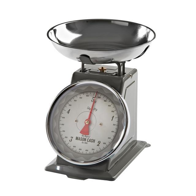 Mason Cash Baker Lane Kitchen Scales, Grey from Ocado