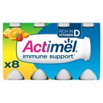 Actimel Multifruits Drinking Yogurts