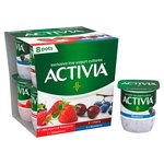 Activia Strawberry , Raspberry , Blackberry & Blueberry & Cherry Yogurts