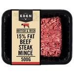 Eden Beef Steak Mince 15% Fat