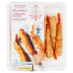 Waitrose 12 Breaded King Prawns
