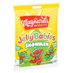 Maynards Bassetts Snowmen Jelly Babies