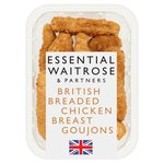 Essential Waitrose British Chicken Breast Goujons