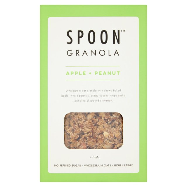 Spoon Cereals Peanut + Apple Granola