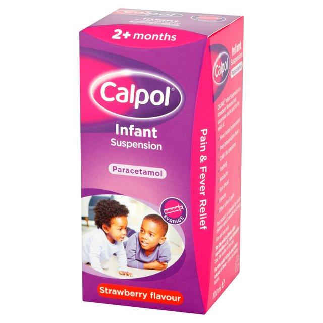 Calpol Infant Paracetamol Strawberry Liquid 2 Mths Ocado