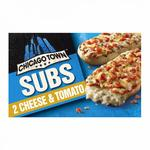 Chicago Town 2 Sub Cheese & Tomato Pizzas
