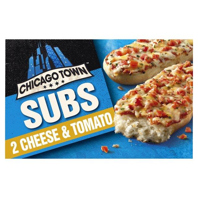 Chicago Town 2 Sub Cheese Tomato Pizzas Ocado
