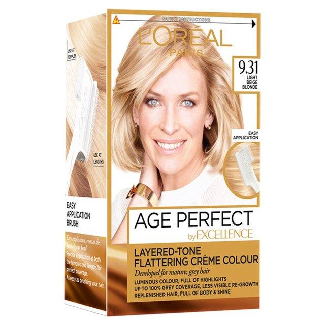 Loreal Paris Excellence Age Perfect Light Beige Blonde 931