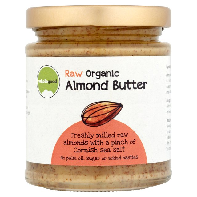 Wholegood Organic Raw Almond Butter