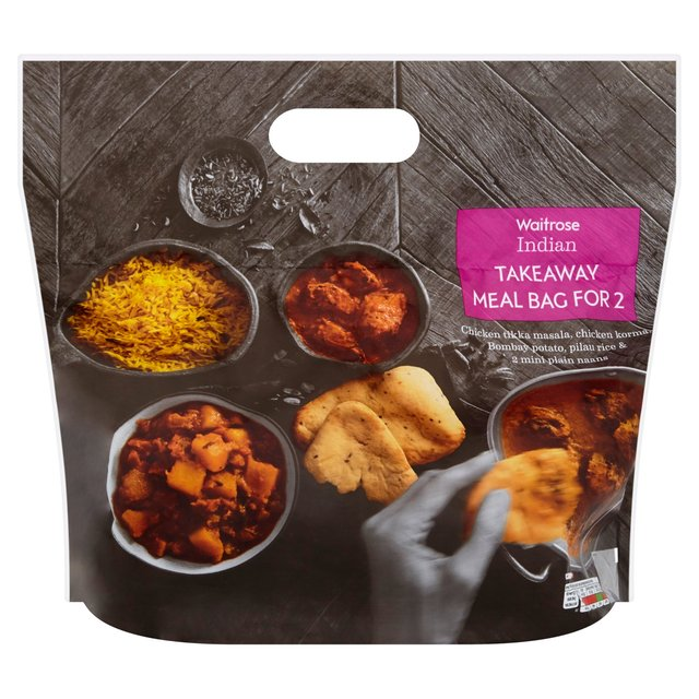 Waitrose indian takeaway for two 1200g from ocado for Peri y canape