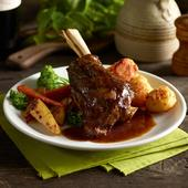 Kings of Low & Slow Lamb Shank with Minted Gravy