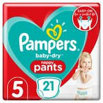 Pampers Baby Dry Pants Size 5 Carry Pack