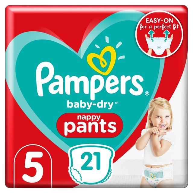 Pampers Baby Dry Pants Size 5 21 Per Pack From Ocado