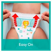Pampers Baby Dry Pants Size 4 Carry Pack