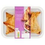 Waitrose 4 Vegetable Samosas