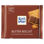 Ritter Sport Butter Biscuit Milk Chocolate