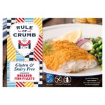 Rule of Crumb Breaded Cod Fillets
