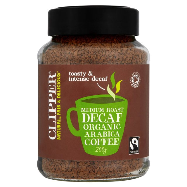 Clipper Organic Instant Decaffeinated Coffee Fairtrade