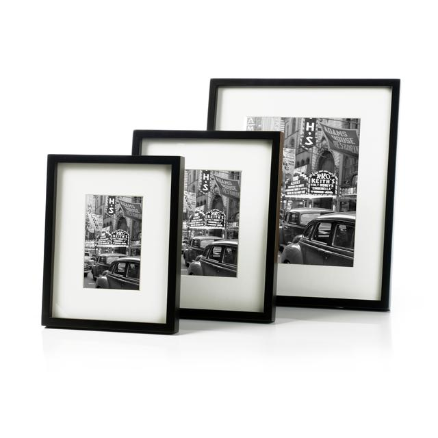 Sixtrees Hanover Photo Frame 8x10 Black From Ocado