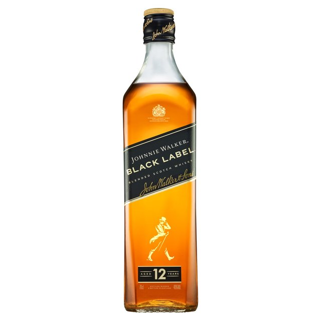 Johnnie Walker Black Label 70cl From Ocado