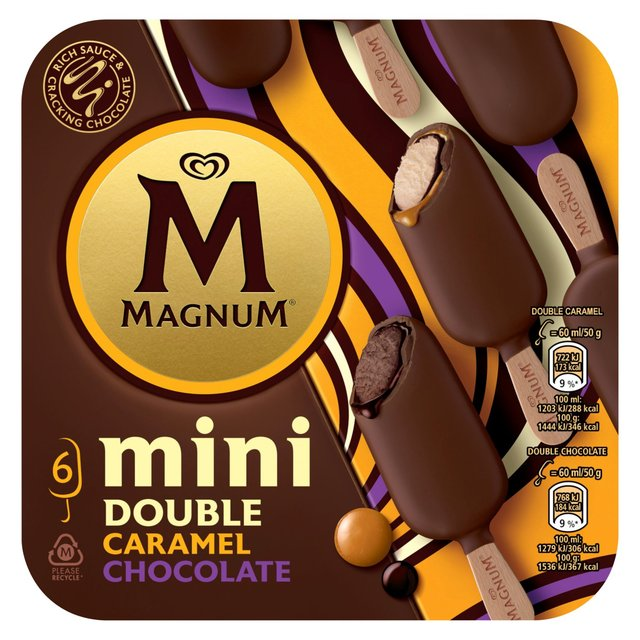 Magnum Mini Double Chocolate & Caramel Ice Cream