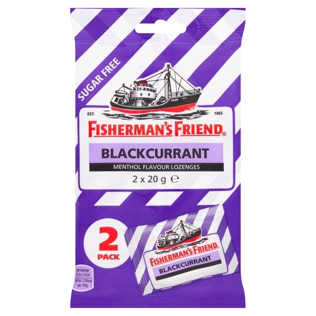 Fisherman's Friend Blackcurrant Lozenges | Ocado